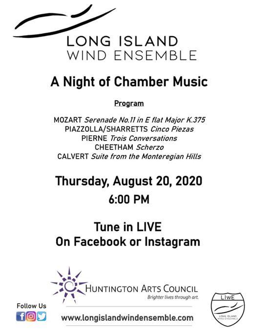Chamber Music Flyer